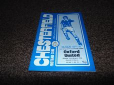 Chesterfield v Oxford United, 1977/78